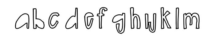erinheading Font LOWERCASE