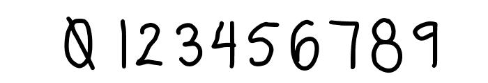 erinregular Font OTHER CHARS