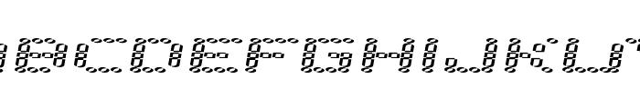 error 2000 Font LOWERCASE