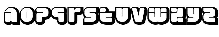 Eraser Forty Gauge Font LOWERCASE