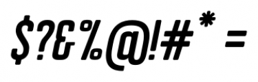 Erazm Italic Font OTHER CHARS