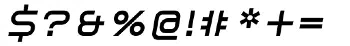 ER9 Bold Italic Font OTHER CHARS