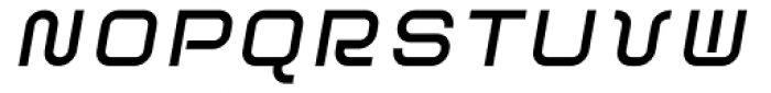 ER9 Bold Italic Font UPPERCASE