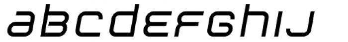 ER9 Bold Italic Font LOWERCASE