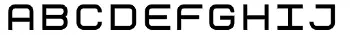 ER9 Bold Font UPPERCASE