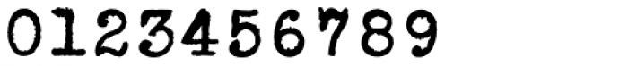 Erased Typewriter2 Bold Font OTHER CHARS