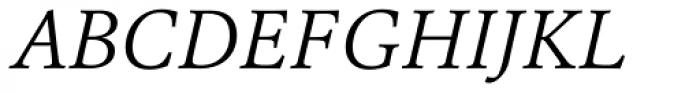 Erato Light Italic Font UPPERCASE
