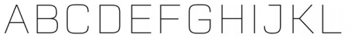 Erbaum Thin Font UPPERCASE