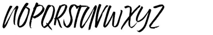 Ernest & Emily Slanted Solid Font UPPERCASE
