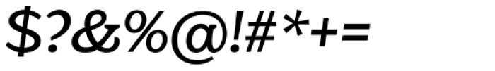 Eroika Slab Light Italic Font OTHER CHARS