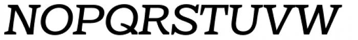 Eroika Slab Light Italic Font UPPERCASE
