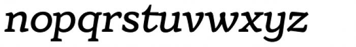 Eroika Slab Light Italic Font LOWERCASE