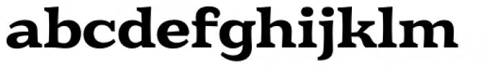 Eroika Slab Medium Font LOWERCASE