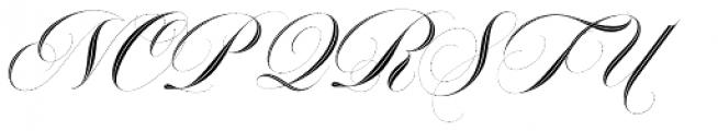 Erotica Inline Std Font UPPERCASE
