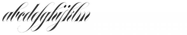 Erotica Inline Std Font LOWERCASE