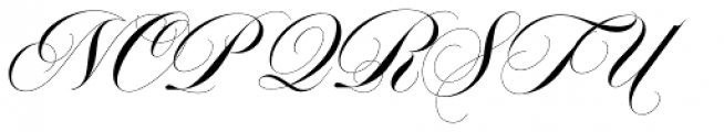 Erotica Small Pro Font UPPERCASE