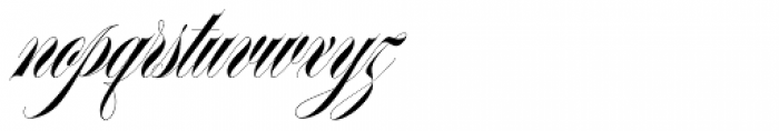 Erotica Small Pro Font LOWERCASE