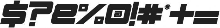 Esba  Italic otf (400) Font OTHER CHARS