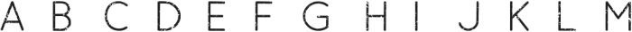 Esoteric_Sans_Textured otf (400) Font LOWERCASE