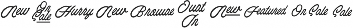 Esoteric_Taglines otf (400) Font OTHER CHARS