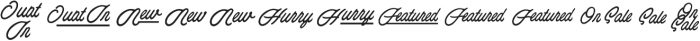 Esoteric_Taglines otf (400) Font UPPERCASE