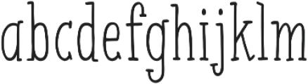 Espresso Beans Pro Regular otf (400) Font LOWERCASE