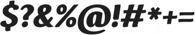 Espuma Pro Black Italic otf (900) Font OTHER CHARS