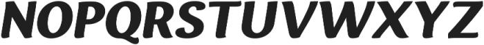 Espuma Pro Black Italic otf (900) Font UPPERCASE