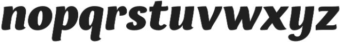 Espuma Pro Black Italic otf (900) Font LOWERCASE