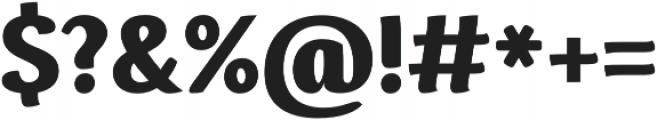 Espuma Pro Black otf (900) Font OTHER CHARS