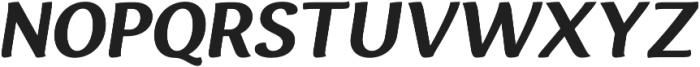 Espuma Pro Bold Italic otf (700) Font UPPERCASE