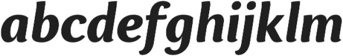 Espuma Pro Bold Italic otf (700) Font LOWERCASE