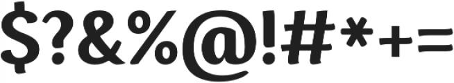 Espuma Pro Bold otf (700) Font OTHER CHARS
