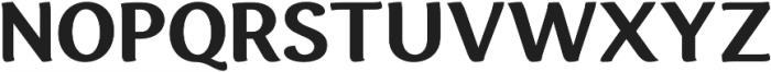 Espuma Pro Bold otf (700) Font UPPERCASE