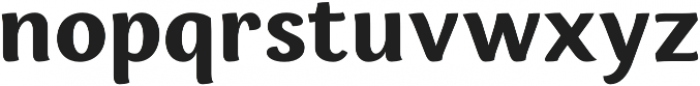 Espuma Pro Bold otf (700) Font LOWERCASE