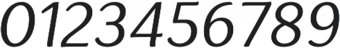 Espuma Pro Book Italic otf (400) Font OTHER CHARS
