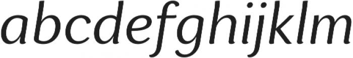 Espuma Pro Book Italic otf (400) Font LOWERCASE