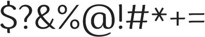 Espuma Pro Book otf (400) Font OTHER CHARS