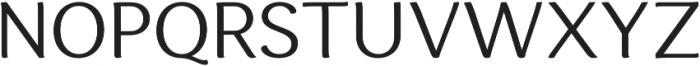 Espuma Pro Book otf (400) Font UPPERCASE