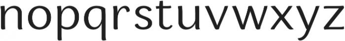 Espuma Pro Book otf (400) Font LOWERCASE