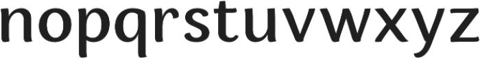 Espuma Pro Medium otf (500) Font LOWERCASE