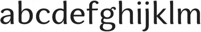 Espuma Pro Regular otf (400) Font LOWERCASE