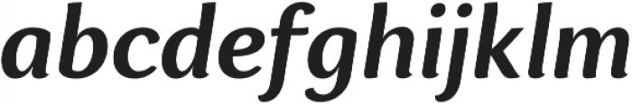 Espuma Pro SemiBold Italic otf (600) Font LOWERCASE