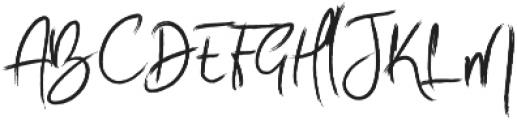 Esse Regular otf (400) Font UPPERCASE