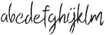 Esse Regular otf (400) Font LOWERCASE