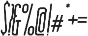 Essenziale Bold Italic otf (700) Font OTHER CHARS