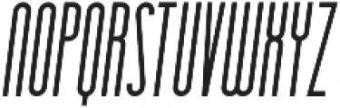 Essenziale Bold Italic otf (700) Font LOWERCASE