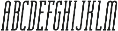 Essenziale Slab Bold Italic otf (700) Font UPPERCASE