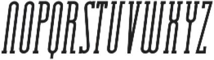 Essenziale Slab Bold Italic otf (700) Font LOWERCASE