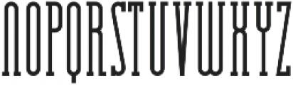Essenziale Slab Bold otf (700) Font UPPERCASE